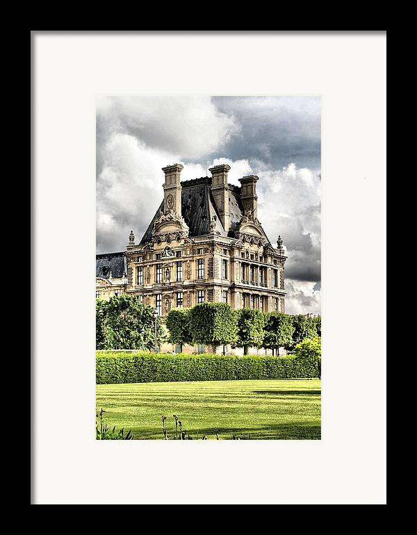 Paris Framed Print featuring the photograph Le Musee Du Louvre by Greg Sharpe