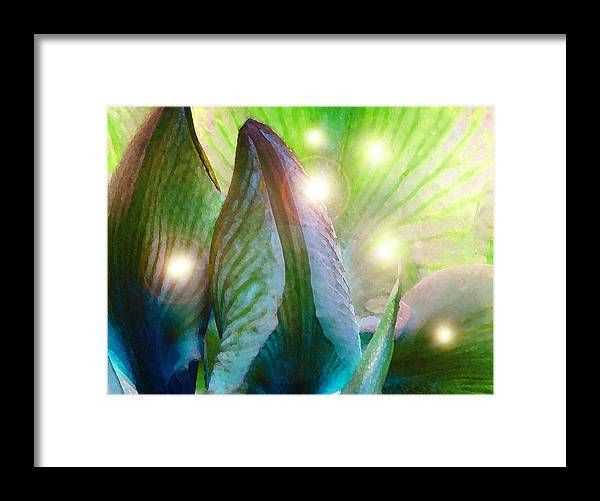 Fairies Framed Print featuring the photograph Leave Room In Your Garden For Fairies To Dance by James Temple
