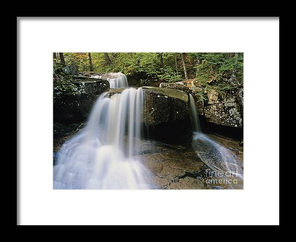 Wilderness Framed Print featuring the photograph Ledge Brook - White Mountains New Hampshire Usa by Erin Paul Donovan