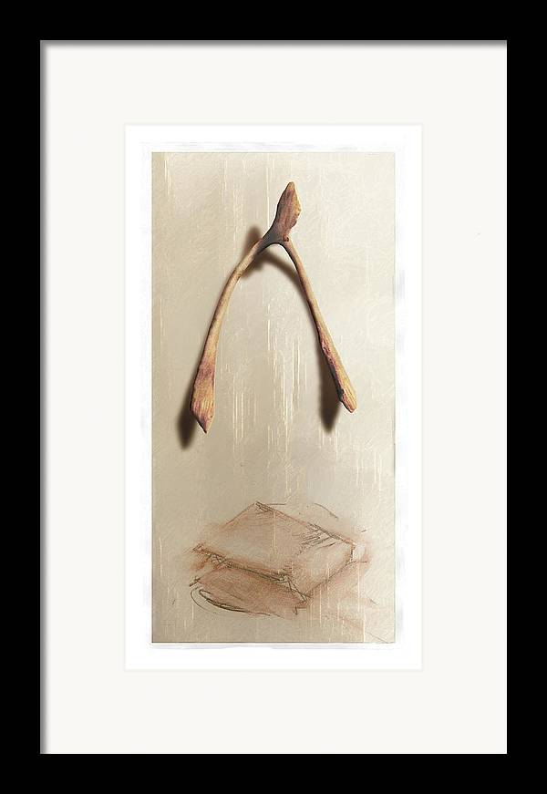 Still Life Framed Print featuring the digital art Leftovers by Nuff