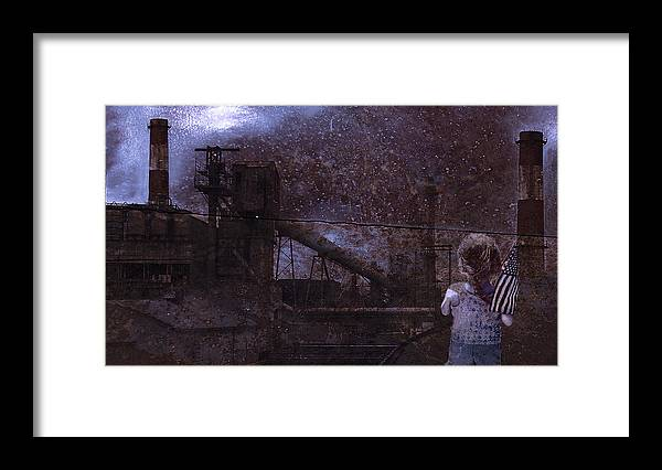 Urban Framed Print featuring the photograph Legacy For A Child by Jeff Burgess