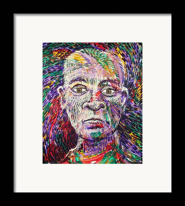 Man Framed Print featuring the painting Legacy by Rollin Kocsis
