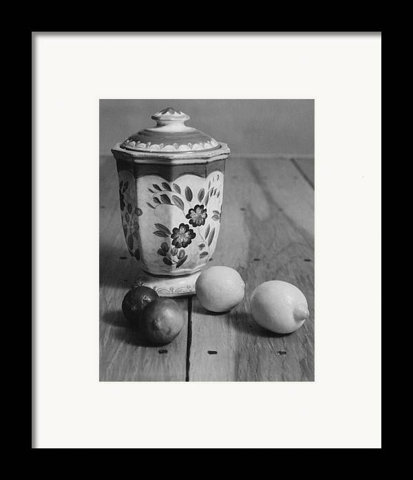 Cooking Framed Print featuring the photograph Lemons And Limes by Henry Krauzyk
