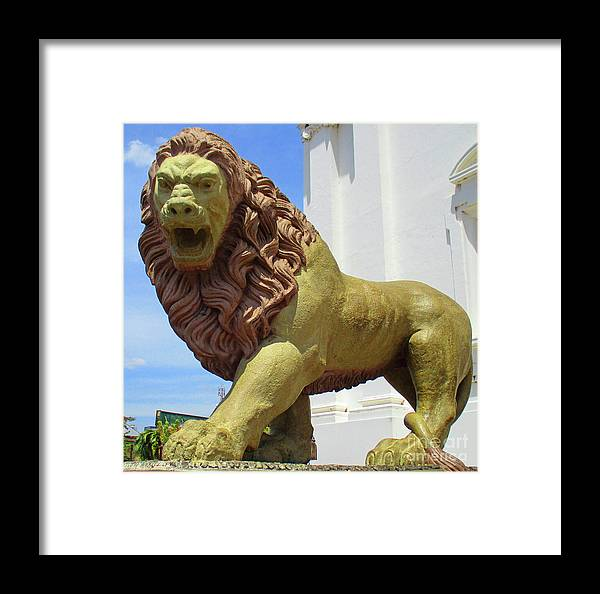 Nicaragua Framed Print featuring the photograph Leon Sculpture 2 by Randall Weidner