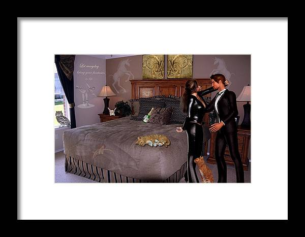 Composition Framed Print featuring the photograph Let Everyday Bring Your Fantasies To Life by RiaL Treasures