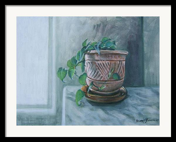 Still Life Framed Print featuring the painting Let There Be Light by Howard Stroman