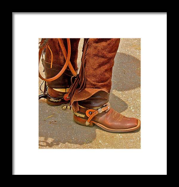 Horses Framed Print featuring the photograph Lets Rope Em by Donna Thomas