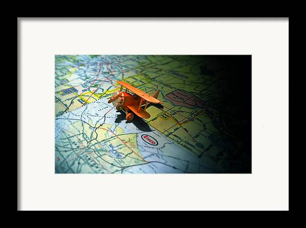 Toy Framed Print featuring the photograph Let's Take A Trip by Adam Vance