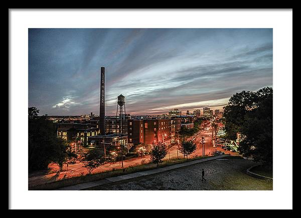 Framed image of a classic view from libby hill. makes perfect richmond va gifts