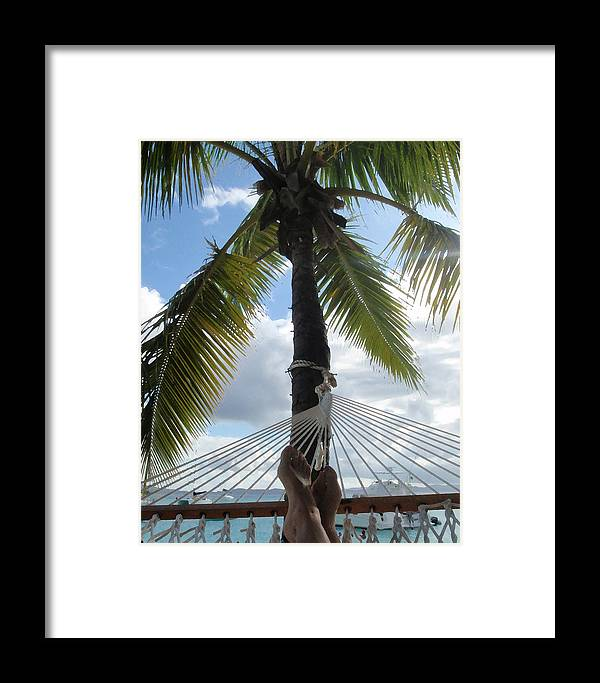 Caribbean Framed Print featuring the photograph Life Is Good by Ginger Howland
