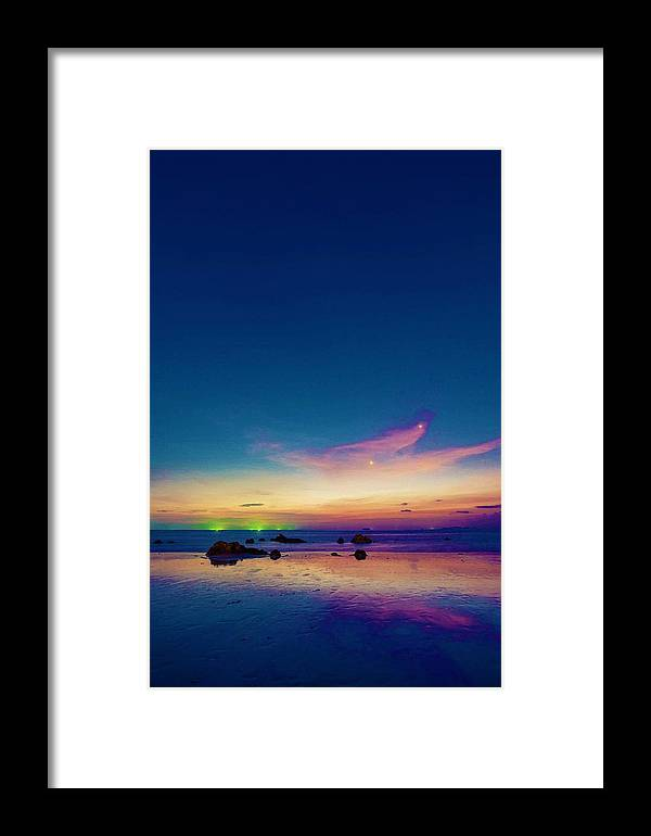 Architecture Framed Print featuring the painting Life Is Simple Just Add Water by Celestial Images