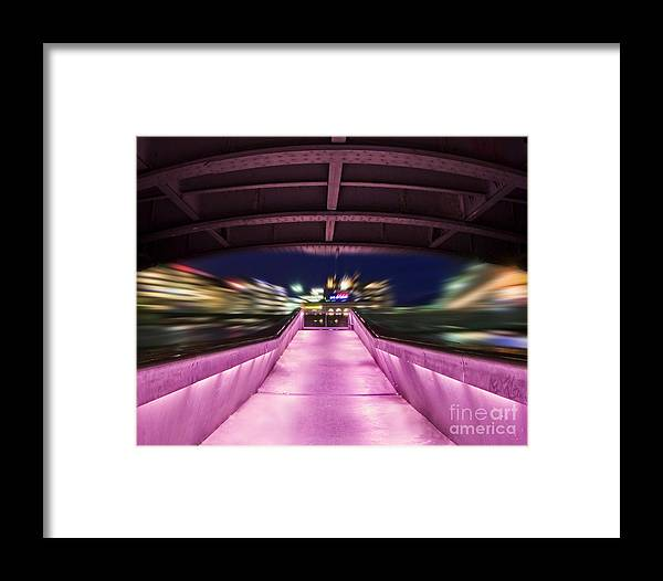 Geneva Framed Print featuring the photograph Life Under The City In Geneva by Chris Smith