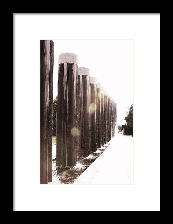 Light Water Framed Print featuring the photograph Light 2 by Gracey Tran