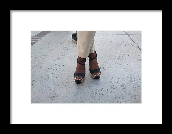 Barefeet Framed Print featuring the photograph Light Brown 10 by Christopher White
