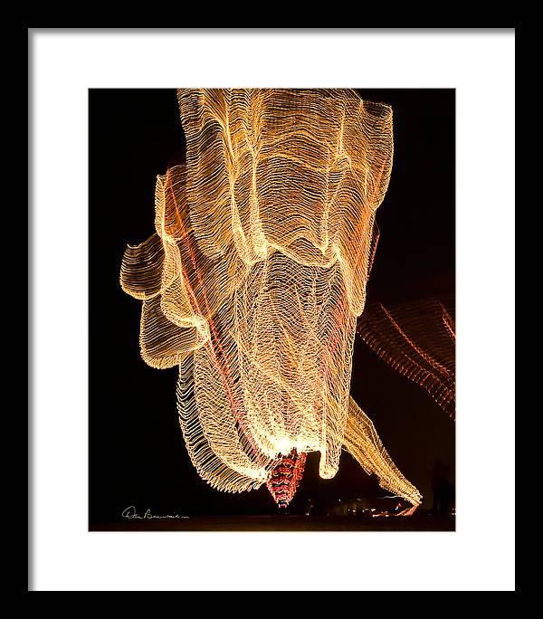 2004 Framed Print featuring the photograph Light Dance 2254 by Dan Beauvais