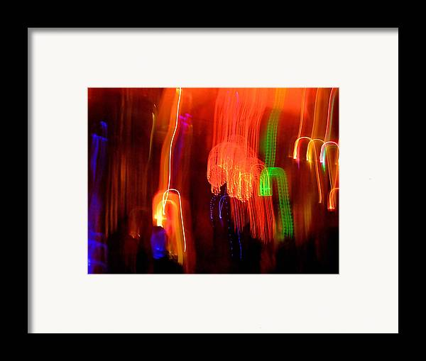 Abstract Framed Print featuring the photograph Light Falling by Elizabeth Hoskinson