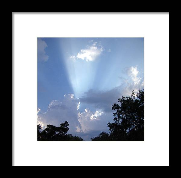 Sky Framed Print featuring the photograph Light Of Day by Nicole I Hamilton