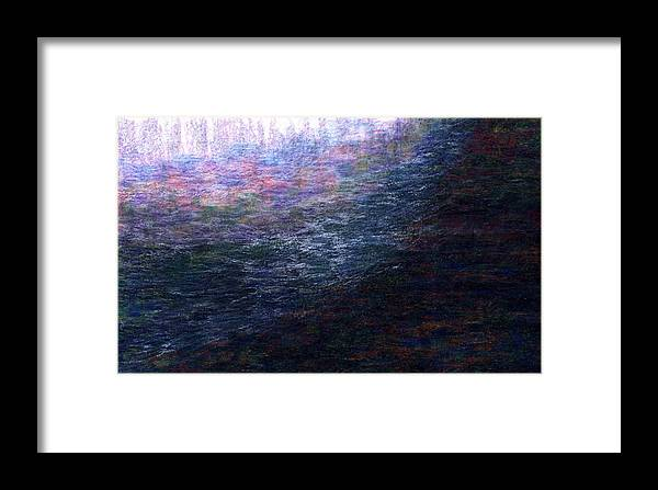 Fine Art Framed Print featuring the painting Light Picture 225 by SOBATA Satosi