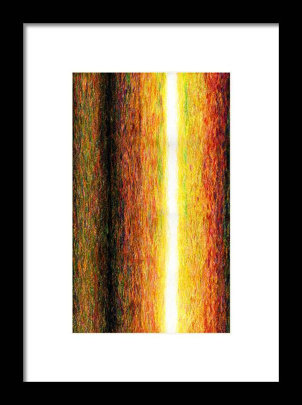 Fine Art Framed Print featuring the painting Light Picture 232 by SOBATA Satosi
