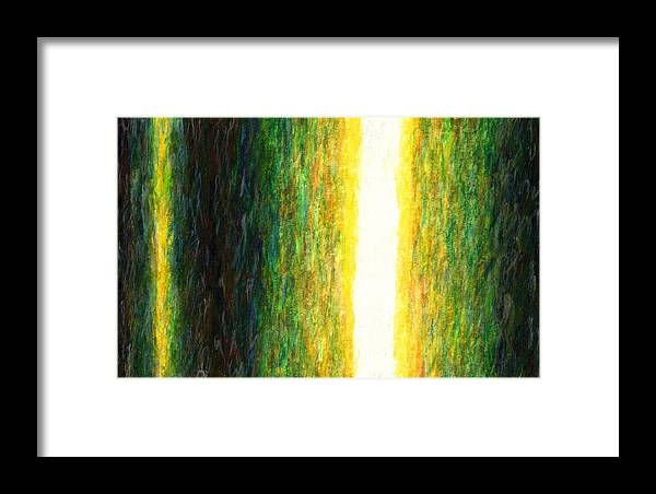 Fine Art Framed Print featuring the painting Light Picture 233 by SOBATA Satosi