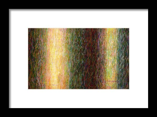 Fine Art Framed Print featuring the painting Light Picture 243 by SOBATA Satosi