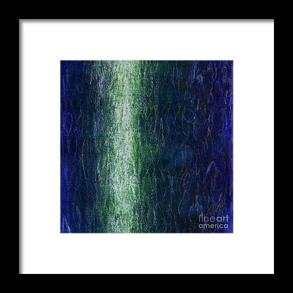 Fine Art Framed Print featuring the painting Light Picture 244 by SOBATA Satosi