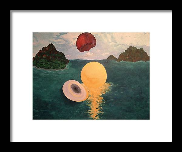 Light Framed Print featuring the painting Light Revealed by Nancy Brockett