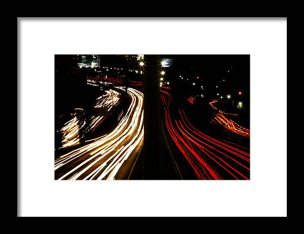 Light Framed Print featuring the photograph Light River by Carmen Sandoval