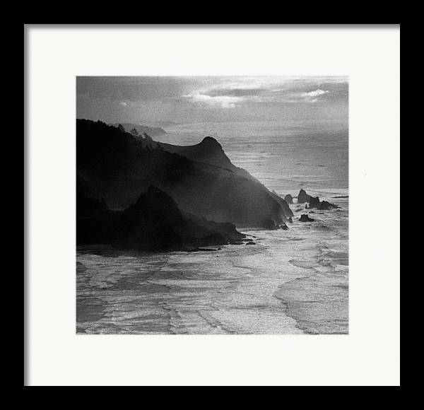Nature Framed Print featuring the photograph Light Rocks by Benjamin Garvey