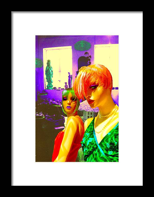 Models Framed Print featuring the photograph Light by Sarah Crumpler