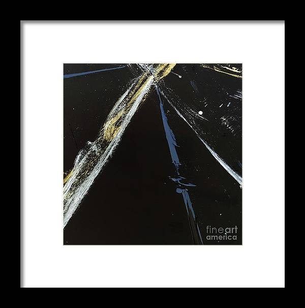 Framed Print featuring the photograph Light Speed by Cheryle Gannaway