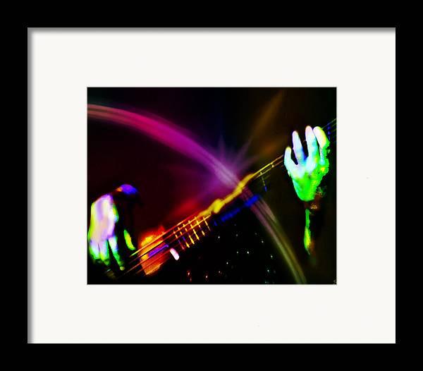 Bass Framed Print featuring the digital art Light Travels by Ken Walker