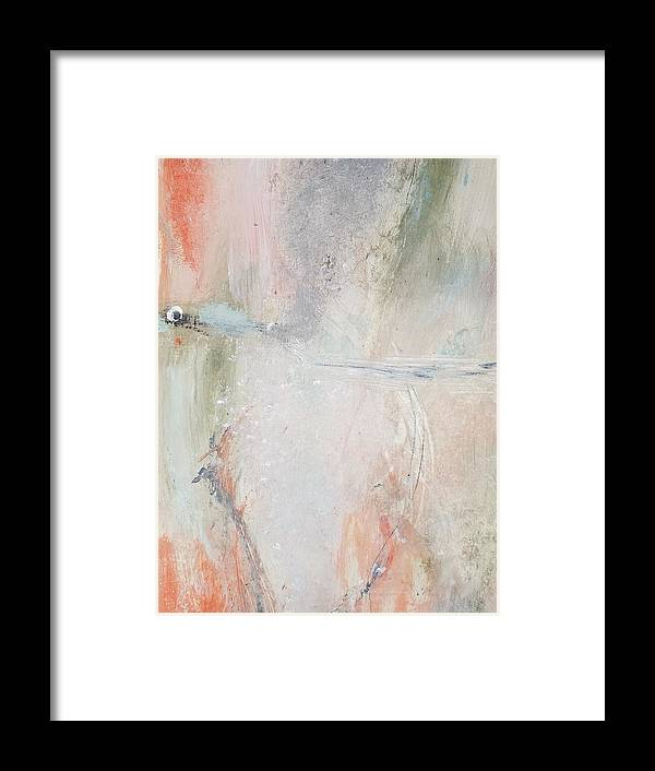 Abstract Framed Print featuring the painting Light Within by Patricia Byron