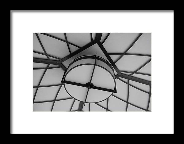 Architecture Framed Print featuring the photograph Lighted Box by Rob Hans