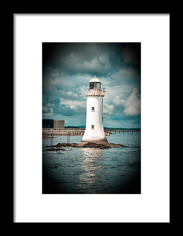 Lighthouse Framed Print featuring the photograph Lighthouse by Gabriela Insuratelu