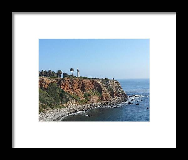 Lighthouse Framed Print featuring the photograph Lighthouse by Hitomi Y