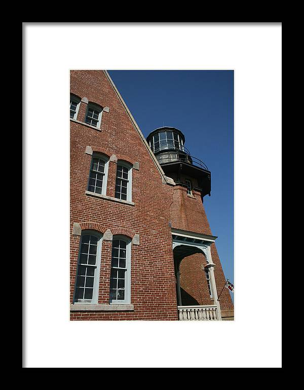 Lighthouse Framed Print featuring the photograph Lighthouse I by Jeff Porter