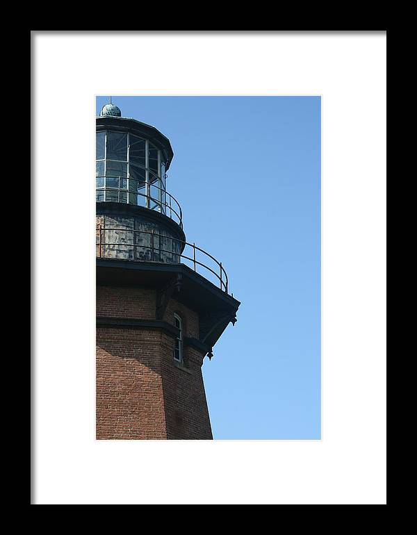 Lighthouse Framed Print featuring the photograph Lighthouse II by Jeff Porter