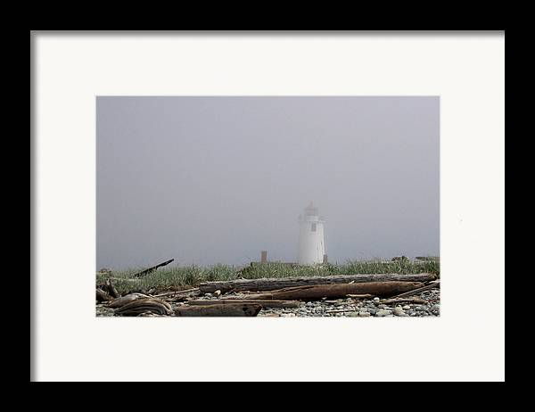 Lighthouse Framed Print featuring the photograph Lighthouse by Ty Nichols