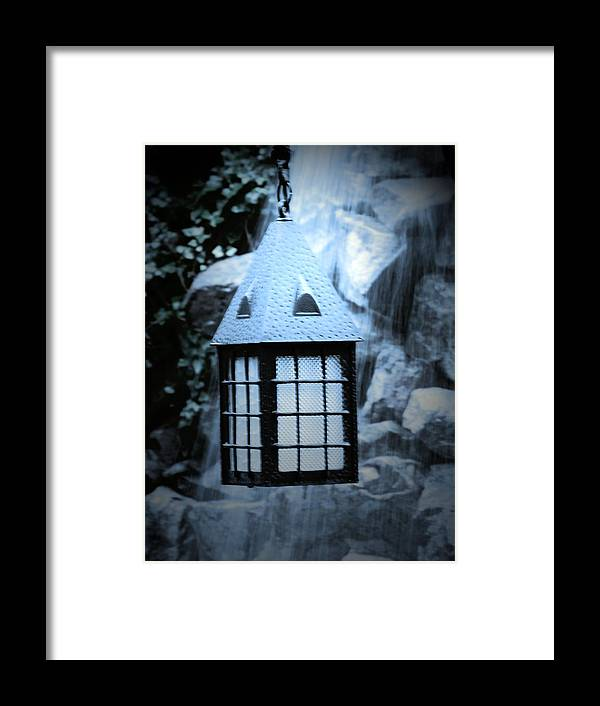 Light Framed Print featuring the photograph Lighting by Jessica Burgett