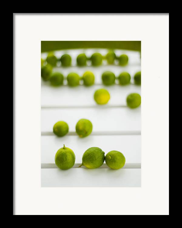 Green Framed Print featuring the photograph Lime Green by Skip Hunt