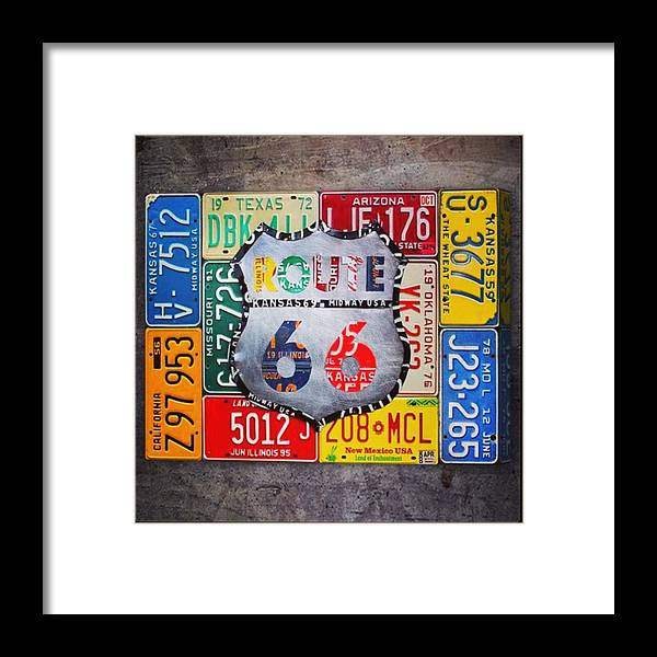 Route66 Framed Print featuring the photograph Limited Time Promotion In #october On by Design Turnpike