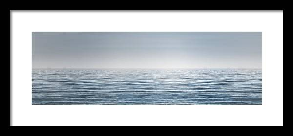 Water Framed Print featuring the photograph Limitless by Scott Norris