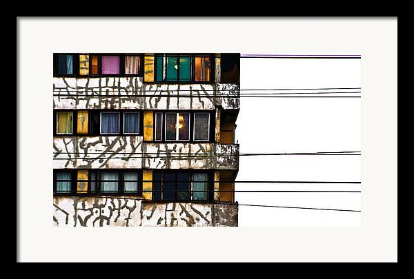 Lines Framed Print featuring the photograph Lines by Vadim Grabbe