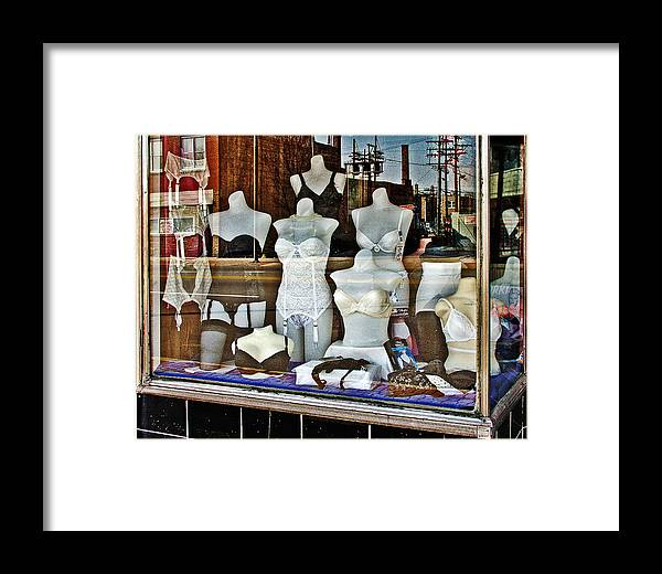 Color Framed Print featuring the photograph Lingerie by Curtis Staiger