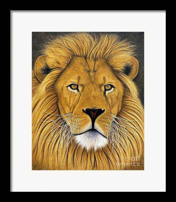 Lawrence Supino Framed Print featuring the painting Lionel by Lawrence Supino