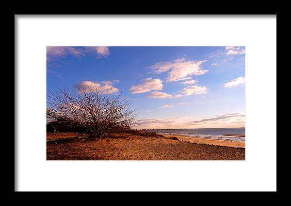 Landscape Framed Print featuring the photograph Listen To The Quiet by Kendall Eutemey