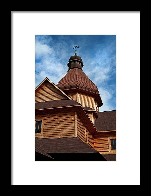 Church Framed Print featuring the photograph Lithuanian Church by Murray Bloom