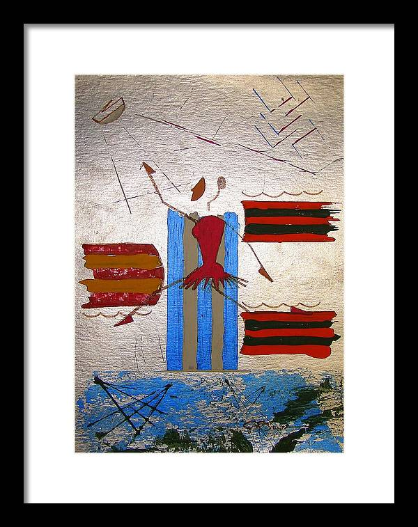Ballerina Framed Print featuring the mixed media Little Ballerina by J R Seymour