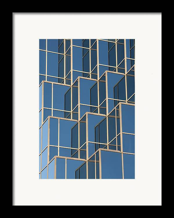 Reflections Framed Print featuring the photograph Little Boxes by Elisabeth Van Eyken